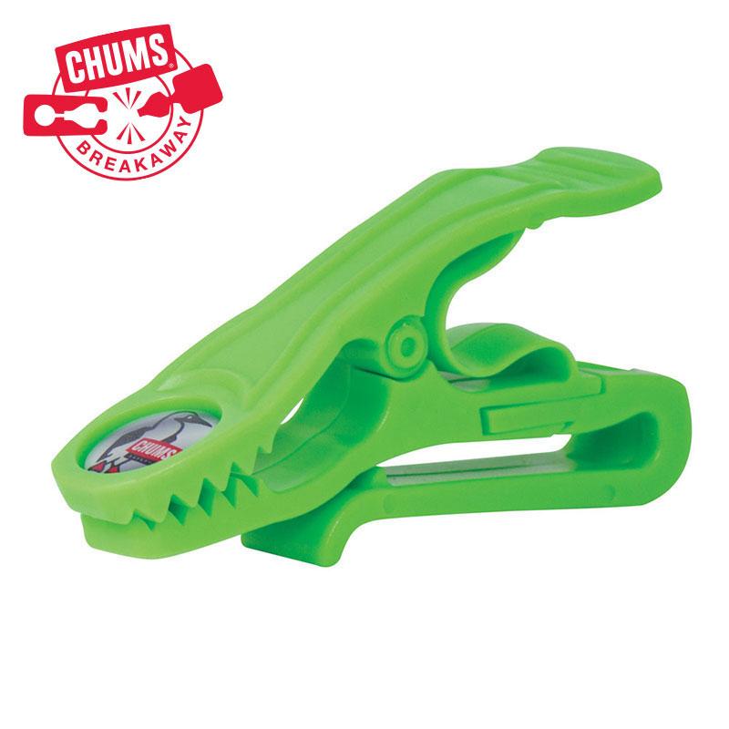 Chums Breakaway Tiger Glove Clip - EV Neon Green. Shop Now!