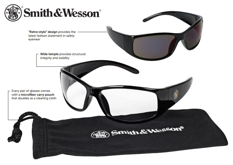 smith wesson elite safety glasses