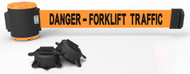 "Banner Stakes MH5013 30' Magnetic Wall Mount - Orange ""Danger- Forklift Traffic"" Banner. Shop now!"