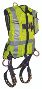 FallTech 7018SML High-Vis Class 2 Vest Harness / Non-belted - Lime. Shop Now!