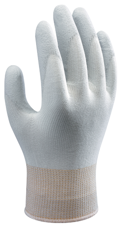 SHOWA AO520 Static-Dissipative Polyurethane Palm Coating Gloves. Shop Now!