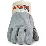 HexArmor 5042 Heavy Duty Premium cowhide Leather Glove Canvass Safety Cuff. Shop Now!