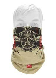 Benchmark 3049FRB Flame Resistant Biohazard Face Muffler Gaiter (Front). Shop now!