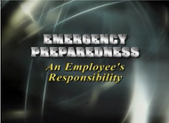 SS1051I Emergency Preparedness: An Employee's Responsibility DVD. Shop Now!