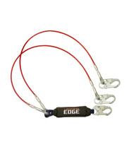 FallTech 8354LEY 6' Leading Edge Lanyard Y-Leg for 100% Tie-Off; Steel Snap Hooks. Shop Now!