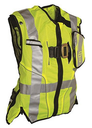 Falltech 5050SM Class 2 Safety Vest Lime S/M. Shop Now!