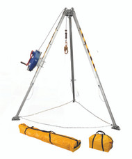 FallTech 7508 Adjustable 8' Aluminum Tripod Kit with 3-way 60' SRL. Shop Now!