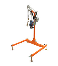 "FallTech 6050428WR  5pc Confined Space Davit System 12"" to 29"" w/60' Winch + 60' SRL-R. Shop Now!"