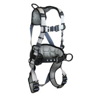 Falltech 7089BQ FlowTech LTE Construction Belted Full Body Harness, 3 D-Rings. Shop Now!