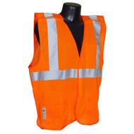 Radians SV4 Economy Type R Class 2 Breakaway Mesh Vest. Front. Shop Now!