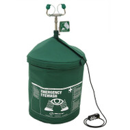 120V Portable Air-Pressurized Tempered Emergency Eyewash