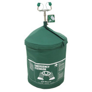 Haws 7603TH 120V Portable Air-Pressurized Tempered Emergency Eyewash (HazLoc)