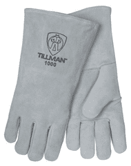 Tillman 1000L Grey Mig Glove Tillman 1000L Grey Shoulder Split Cowhide Stick Welding Gloves (1 Pair). Shop Now!
