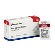 First Aid Only G343 First Aid Burn Cream, 25 Per Box. Shop Now!