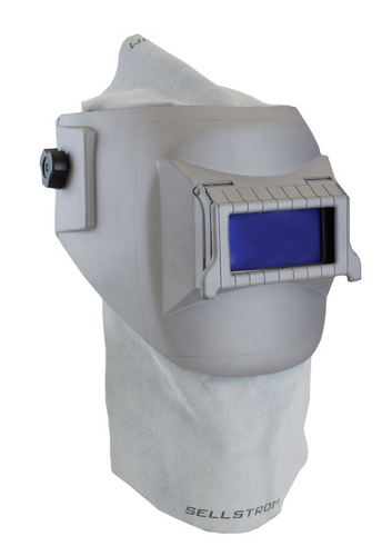 Sellstrom S29411-08E Confined Space Welding Helmet, Silver Coated. Shop Now!