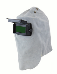 Sellstrom S21301-10 Leather Welding Hood - Gray. Shop Now!