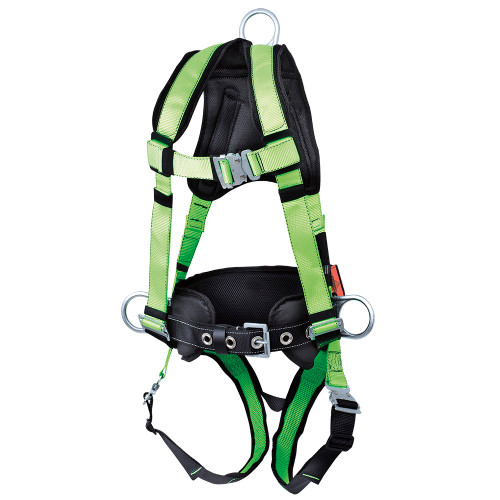 Sellstrom V825562X PeakWorks Contractor Harness with Positioning Belt and Trauma Strap. Shop Now!