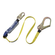 Sellstrom V8104326 E6 Shock Absorbing Lanyard SP Single Leg Snap & Form Hooks 6' (1.8 m). Shop Now!