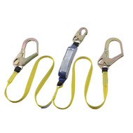 Sellstrom V8104426 E6 Shock Absorbing Lanyard SP Twin Leg Snap & Form Hooks 6' (1.8 m). Shop Now!