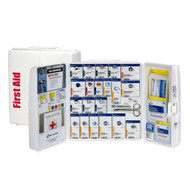 First Aid Only 1000-FAE-0103 50 Person Large Plastic SmartCompliance First Aid Cabinet With Medications. Shop Now!