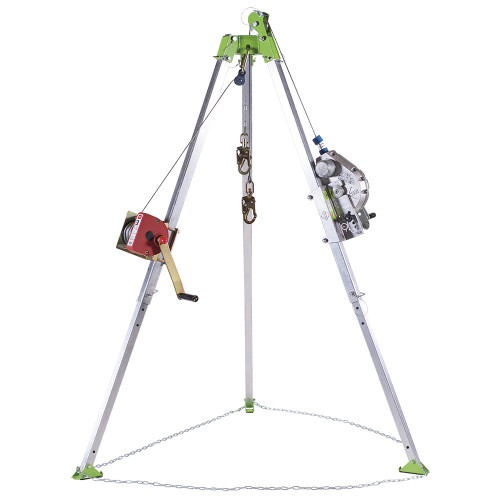 Sellstrom V85026 Confined Space Kit: Tripod, 3-Way 60' (18 m) SRL, 65' (20 m) Man Winch and Bag. Shop Now!