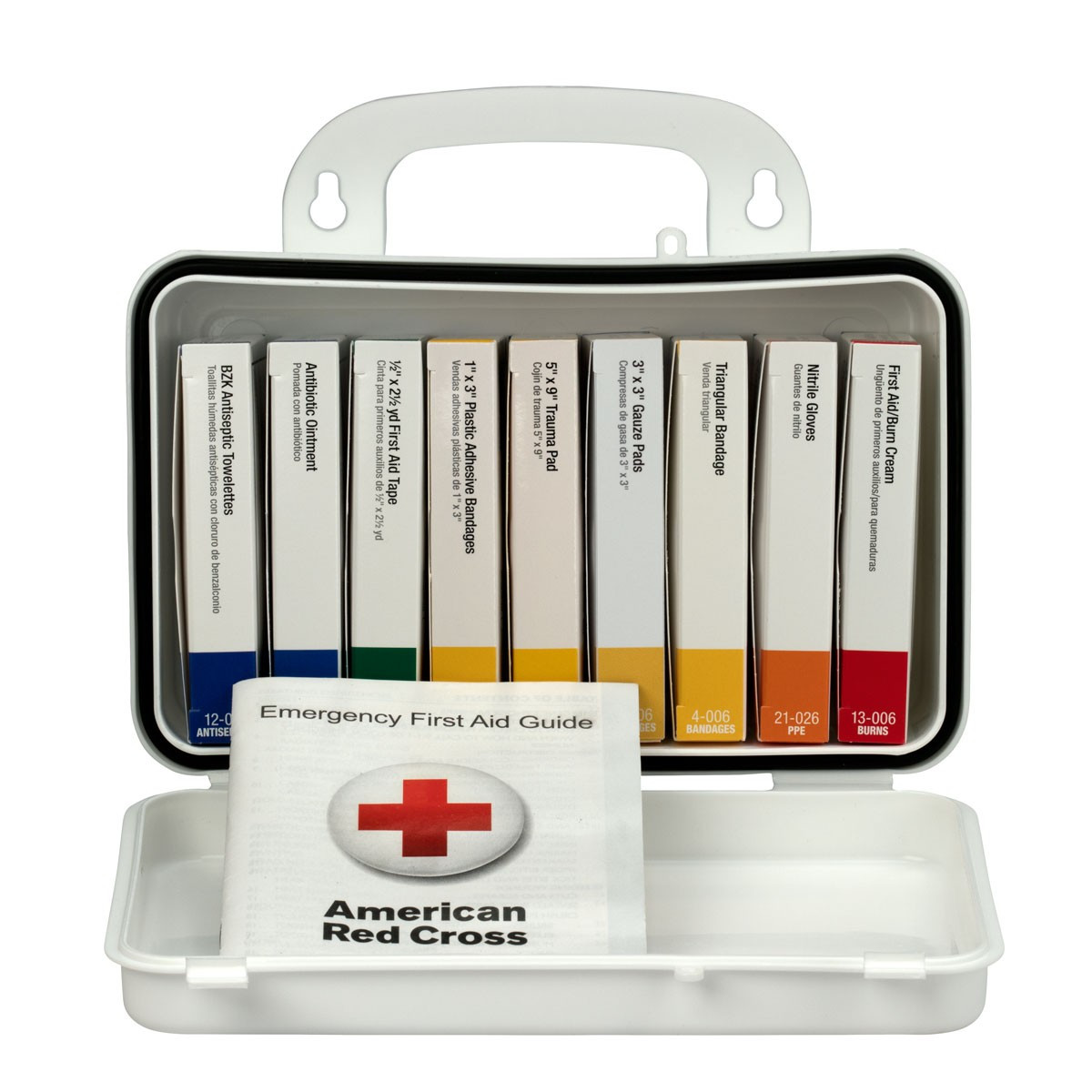 First Aid Only 238-AN 10 Unit 10 Person OSHA First Aid Kit, Plastic