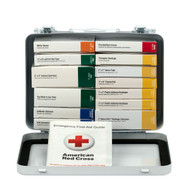 First Aid Only 241-AN 25 Person 16 Unit First Aid Kit, Metal Case. Shop Now!