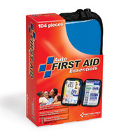 First Aid Only FAO-532 Vehicle First Aid Kit, 104 Piece, Fabric Case. Shop Now!