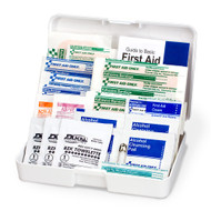 First Aid Only FAO-120 Personal First Aid Kit, 47 Piece, Plastic Case. Shop Now!