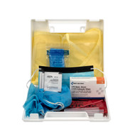 First Aid Only 213-F Personal Protection Kit, BBP (Blood Borne Pathogen) Spill Clean Up Apparel Kit With CPR Pack, Plastic Case. Shop Npw!
