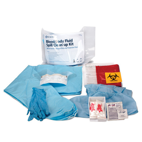 First Aid Only 746001 BBP Spill Clean Up Kit With Medium Apparel Pack. Shop Now!