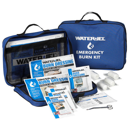 First Aid Only 360003 WaterJel Large Burn Kit, Fabric Case. Shop Now!