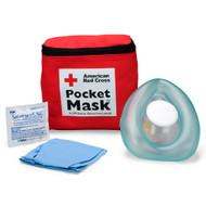 First Aid Only 363015 CPR Laerdal Pocket Mask, Fabric Case. Shop Now!