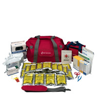 First Aid Only 90489 Emergency Preparedness, 24 Person, Large Fabric Bag First Aid Kit