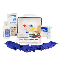 First Aid Only 24-500-001 Single 16 Oz. Eye Wash Station With 25 Person First Aid Kit. Shop Now!