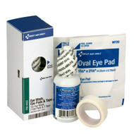 First Aid Only FAE-6022 SmartCompliance Refill Eye Wash, Eye Pads & Tape, 1 Bottle, 1 Oz., 2 Eye Pads & 1 Tape Per Box. Shop Now!