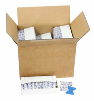 """First Aid Only 1-657 Blue Metal Detectable 1""""X3"""" Plastic Bandages, 1500 Per Box. Shop Now!"""