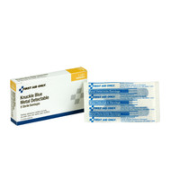 First Aid Only 1-691 Blue Metal Detectable Fabric Knuckle Bandages, 8 Per Box. Shop Now!