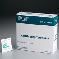 First Aid Only FA-90867 Castile Soap Wipes, 100 Per Box. Shop Now!