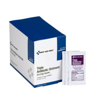 First Aid Only FA-12-700 Triple Antibiotic Ointment, 60 Per Box. Shop Now!