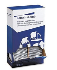 Bausch & Lomb Pre-Moistened Respirator and Equipment Wipes. Shop Now!