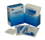 "First Aid Only FA-3-100 2""X2"" Sterile Gauze Pads, 10 Per Box. Shop Now!"