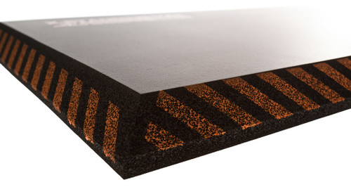 "Impacto MAT designed with Heavy Resilient Closed-Cell 1"" Foam for comfort and support."
