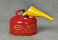 Buy Eagle UI25FS 2.5 Gal Red Type I Safety Can w/ F-15 Funnel today and SAVE.