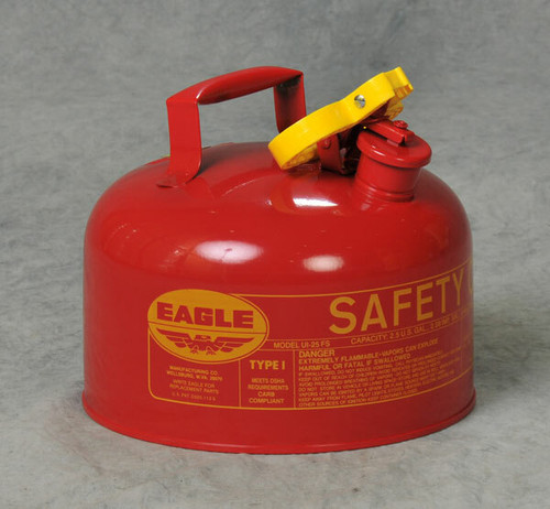 Buy Eagle UI25S 2.5 Gal Red Type I Safety Can today and SAVE.
