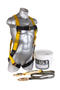 Buy Guardian 00870 Little Bucket of Safe-Tie Full-Body Harness Kit  now and save!