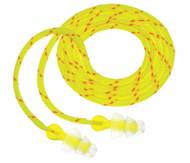 3M P3001 Tri Flange Cloth Corded Earplugs NRR 26 - 100 Pairs