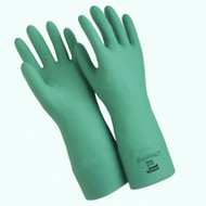 Ansell Sol-Vex 15 mil Nitrile Flock Lined Gloves with Straight Cuff. Shop Now!