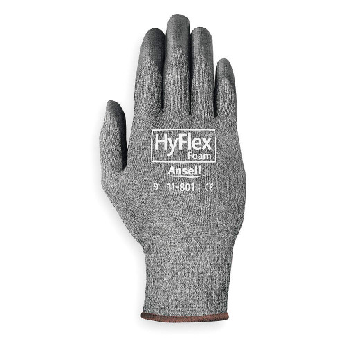 Ansell 11-801-9 HyFlex Multi-purpose Palm Coated Light Duty Gloves. Shop Now!