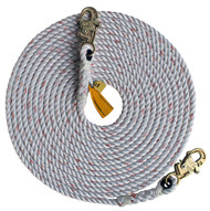 DBI 1202790 Rope Lifeline with 2 Snap Hooks 50 ft. Shop now!